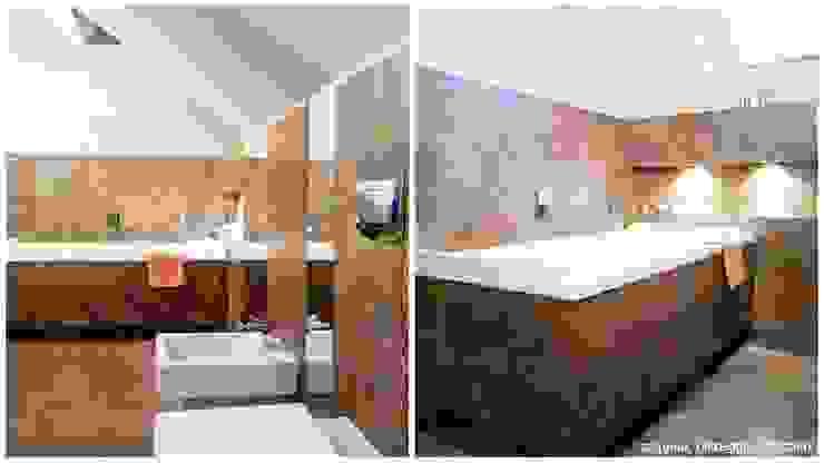 Projekt łazienki Minimalistyczna łazienka od More Than Design Minimalistyczny
