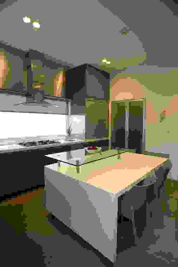 Casa Quince Cocinas minimalistas de Echauri Morales Arquitectos Minimalista