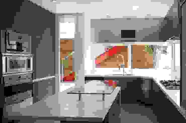 Cozinhas  por Echauri Morales Arquitectos, Minimalista