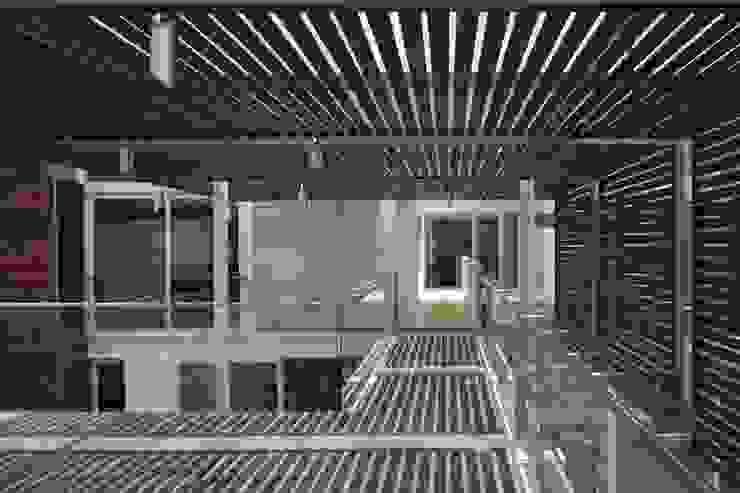 Casa Quince Balcones y terrazas minimalistas de Echauri Morales Arquitectos Minimalista