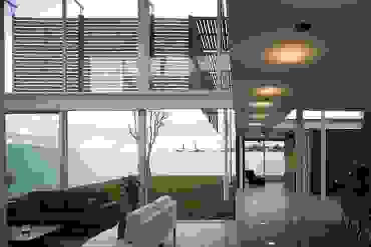 Casa Quince Jardines minimalistas de Echauri Morales Arquitectos Minimalista