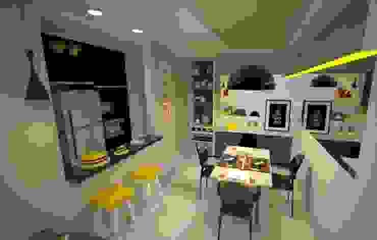 Favoritto - Ce Salas de jantar modernas por Duecad - Arquitetura e Interiores Moderno
