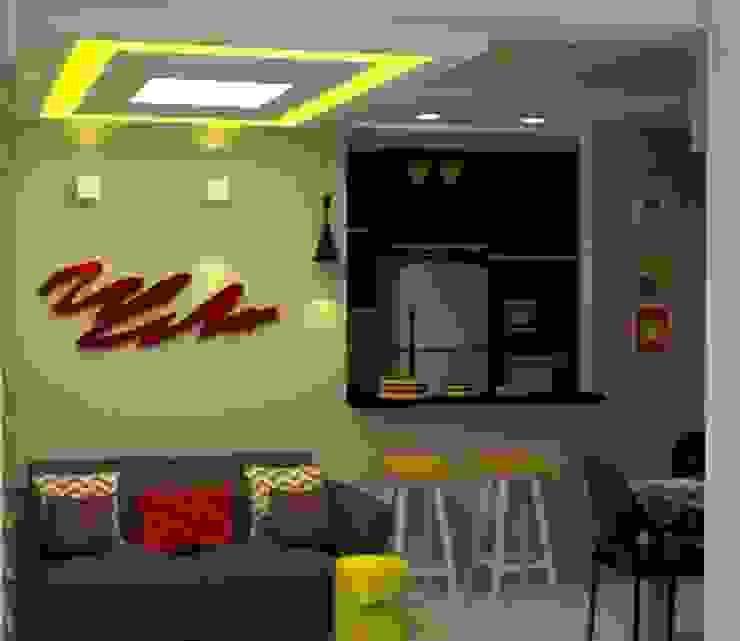 Favoritto – Ce Salas de estar modernas por Duecad - Arquitetura e Interiores Moderno