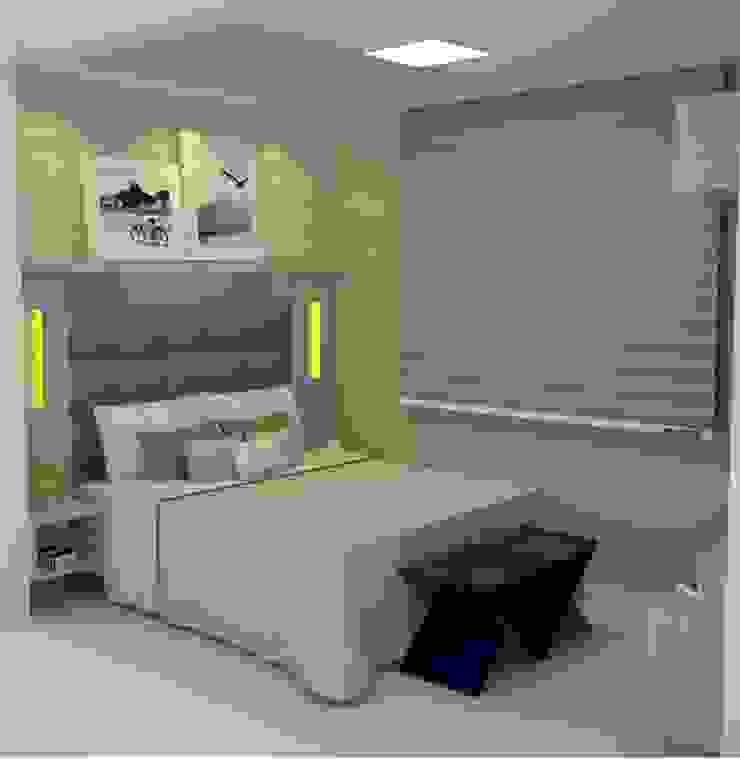 Favoritto – Ce Quartos modernos por Duecad - Arquitetura e Interiores Moderno