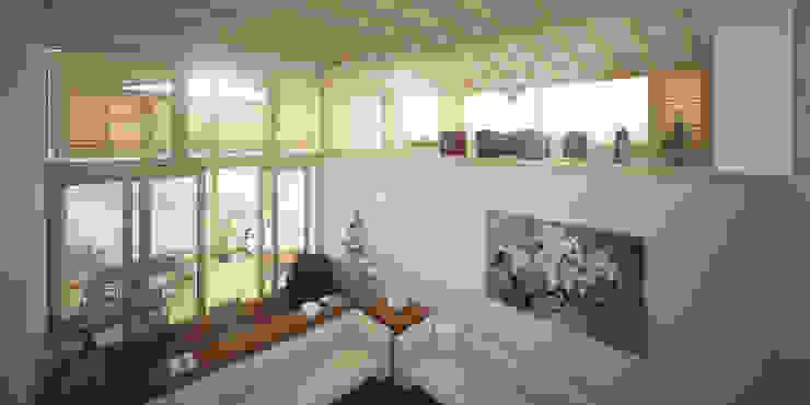 Salas de estilo clásico de homify Clásico Madera Acabado en madera