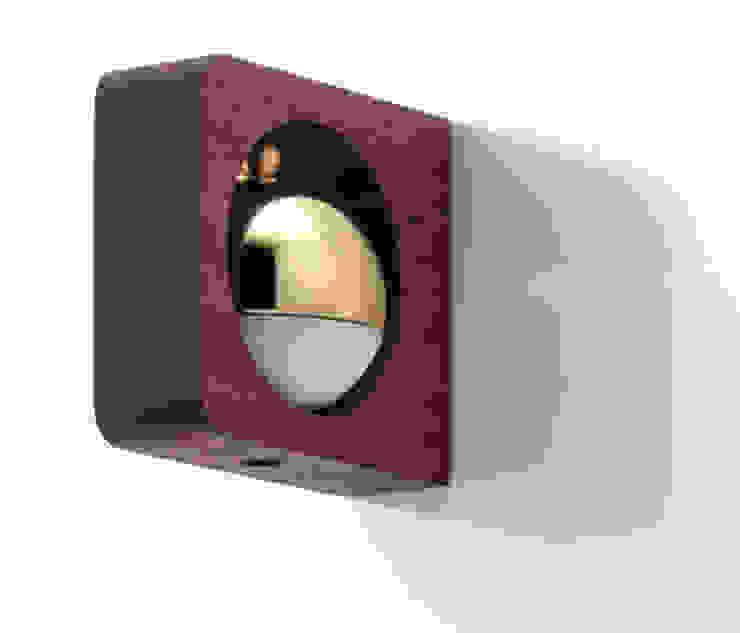 ドアベル 「NEneシリーズ」: 株式会社小泉製作所が手掛けた折衷的なです。,オリジナル 木 木目調