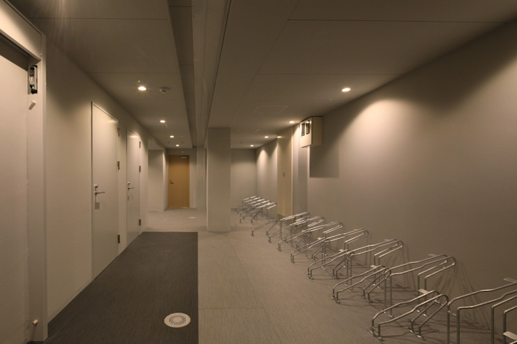 schilf 神宮道 オリジナルデザインの ガレージ・物置 の 株式会社アーキネット京都1級建築士事務所 オリジナル