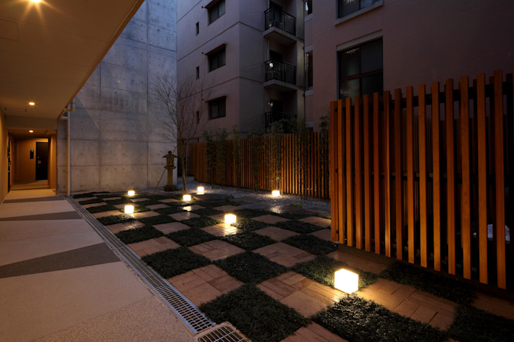 schilf 神宮道 オリジナルな 庭 の 株式会社アーキネット京都1級建築士事務所 オリジナル