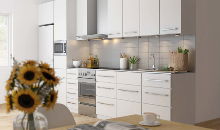 3D Visualization of Kitchen from Pred Solutions Modern Kitchen by Pred Solutions Modern