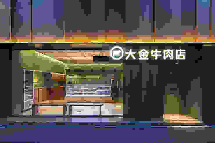 大金牛肉店: 株式会社アトリエテンマが手掛けた現代のです。,モダン