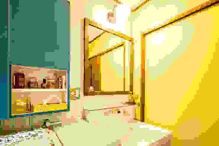 小物使いが素敵なお家 オリジナルスタイルの お風呂 の 株式会社コリーナ オリジナル