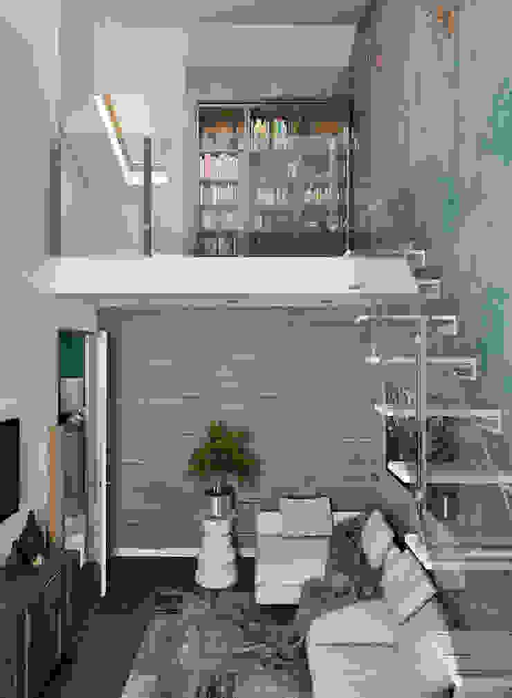 Жилое пространство Гостиные в эклектичном стиле от BMM Эклектичный