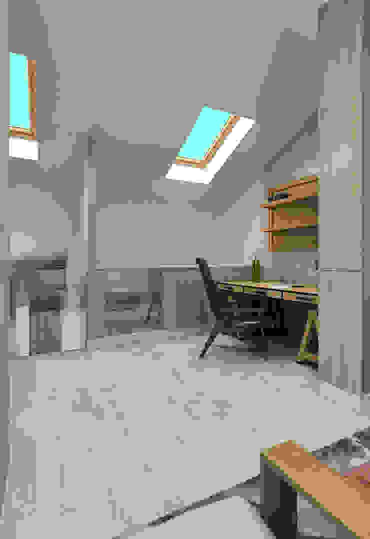 Жилое пространство Рабочий кабинет в эклектичном стиле от BMM Эклектичный