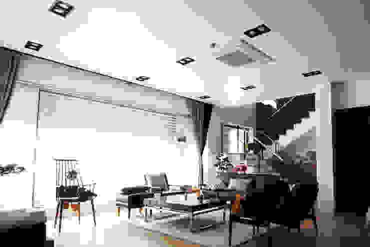 Salas de estilo  por SHIN DESIGN LAB 신디자인랩, Moderno