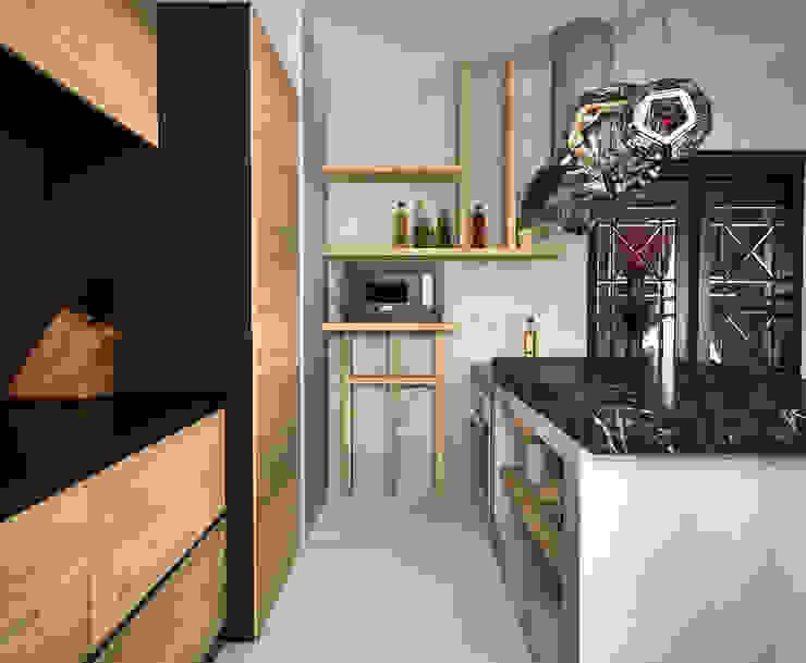 Жилое пространство Кухни в эклектичном стиле от BMM Эклектичный