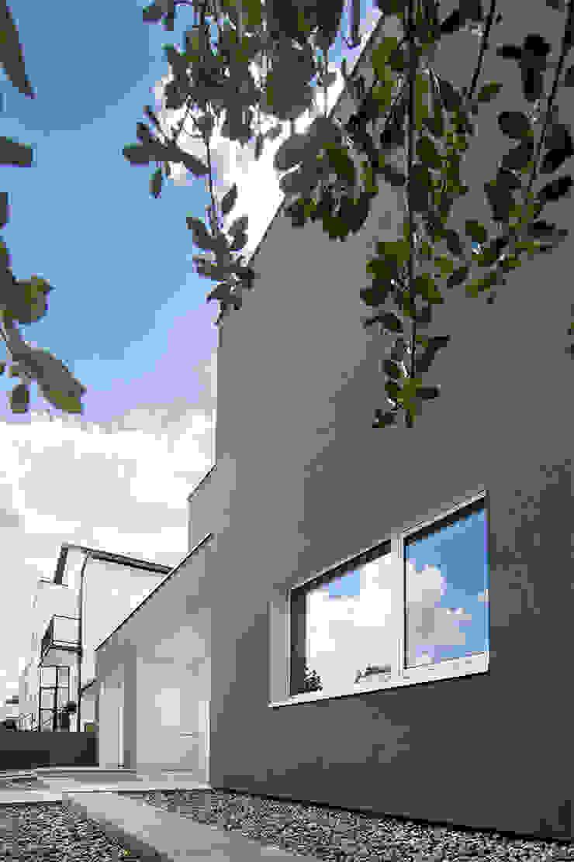 PL+sp. z o.o. Moderne Häuser Grau
