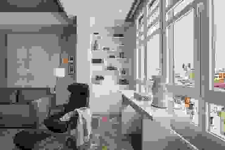 Rincones para facilitar el almacenamiento Salones de estilo ecléctico de Laura Yerpes Estudio de Interiorismo Ecléctico