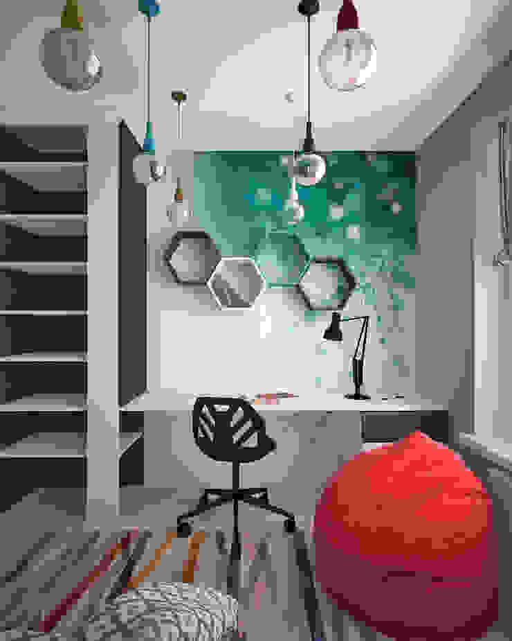 Жилое пространство Детские комната в эклектичном стиле от BMM Эклектичный