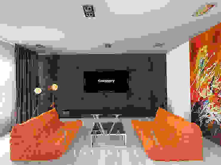 3 Гостиная в стиле модерн от Дизайнер Татьяна Волкова Модерн