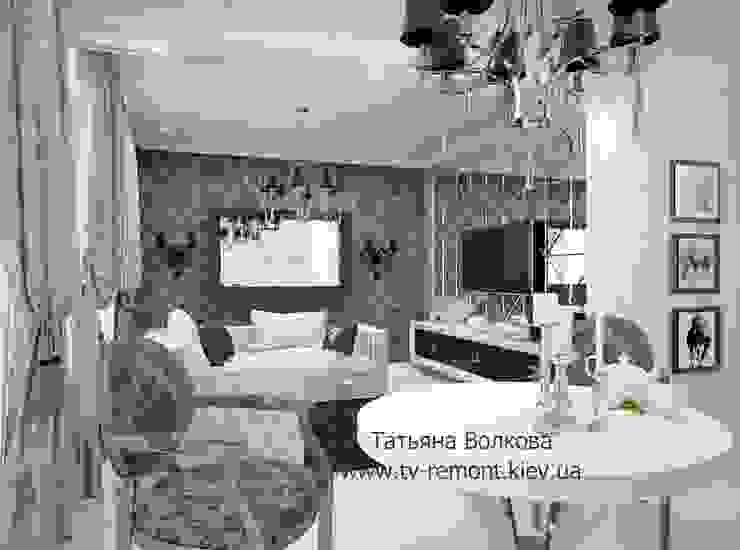 2 Гостиная в классическом стиле от Дизайнер Татьяна Волкова Классический