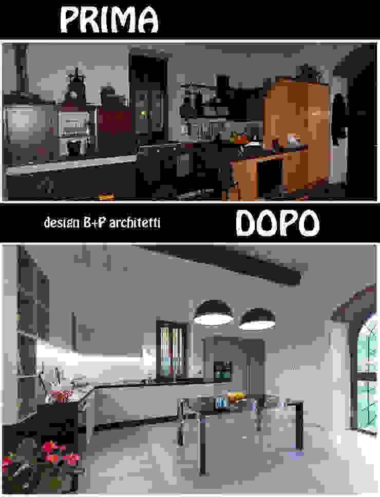 Cocinas de estilo moderno de B+P architetti Moderno