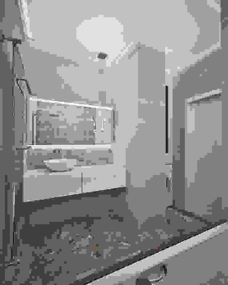 Жилое пространство Ванная комната в эклектичном стиле от BMM Эклектичный