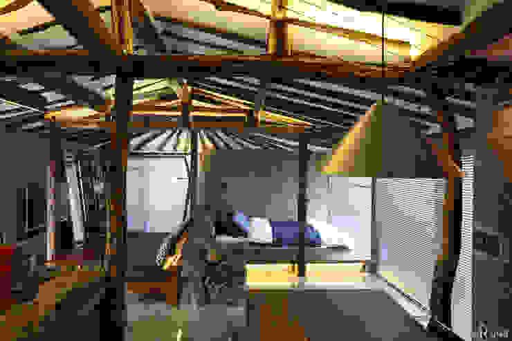Salas de estar rústicas por Z_Lab Rústico