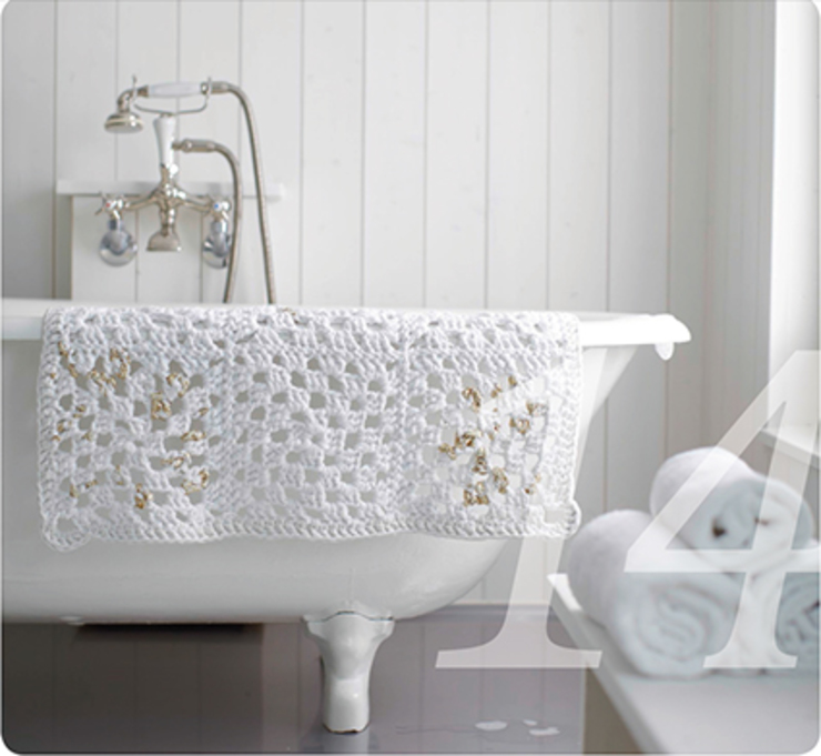 Knit Kit GmbH BathroomTextiles & accessories Bông White