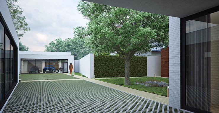 Городской дом Дома в стиле модерн от EFAS Модерн