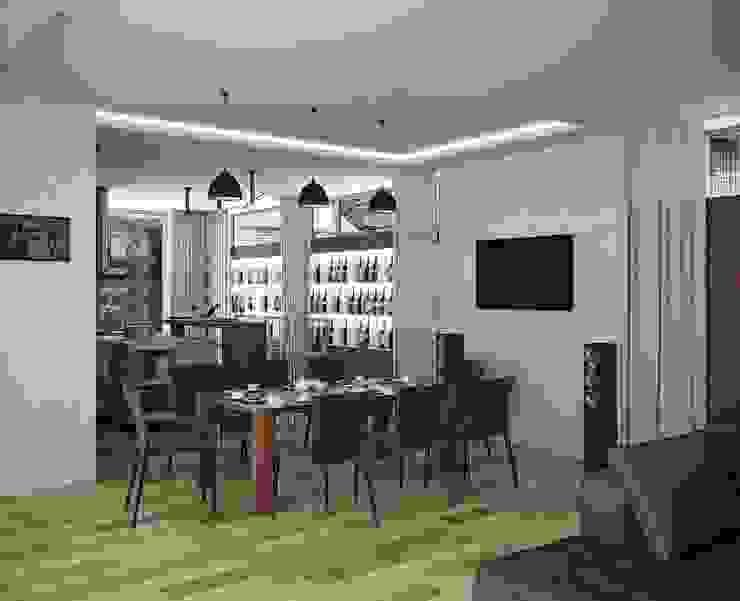 Городской дом Кухня в стиле модерн от EFAS Модерн