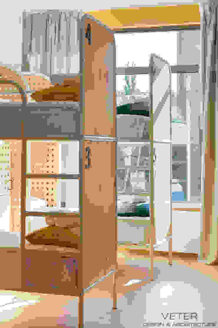 NETIZEN HOSTEL Гостиницы в скандинавском стиле от VETER DESIGN & ARCHITECTURE Скандинавский