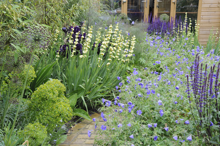 Chiswick town garden Moderner Garten von Arthur Road Landscapes Modern