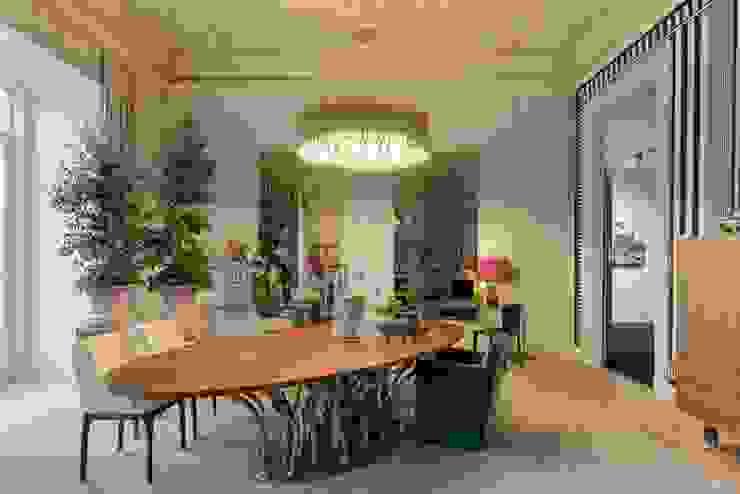 Casa Lisboa: Salas de jantar  por ACTUAL SOLUCÕES,Moderno