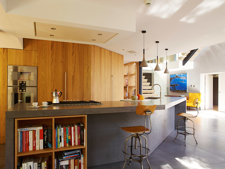 Richmond Concrete LCDA Modern Kitchen