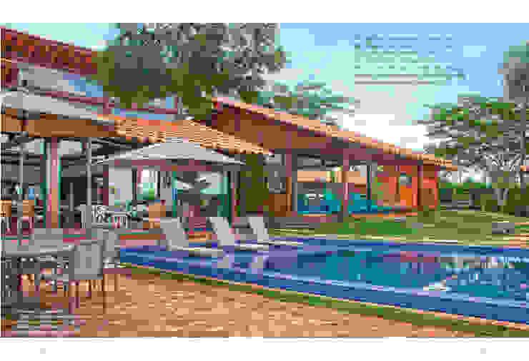 Casas de estilo tropical de FERNANDO ROMA . estudioROMA Tropical
