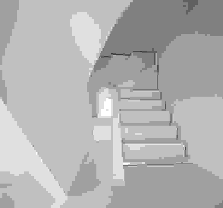 Westbourne Grove Pasillos, vestíbulos y escaleras de estilo moderno de Moreno Masey Moderno
