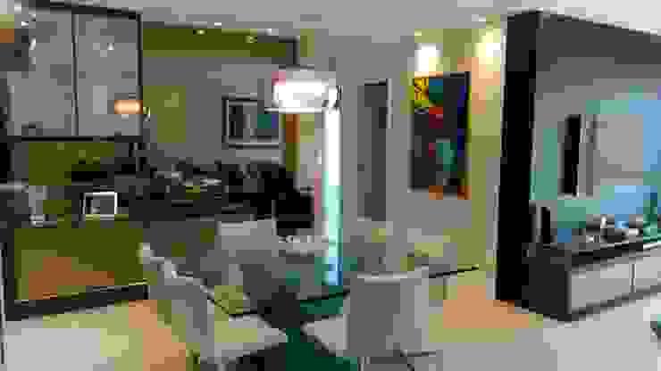Sala de jantar por Caroline Lima Arquitetura Moderno