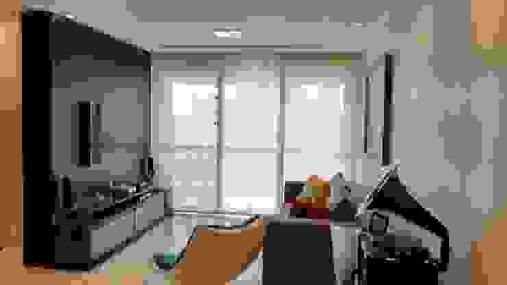 Sala de Estar e tv por Caroline Lima Arquitetura Moderno