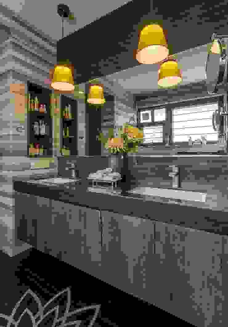 In-situ Design Modern style bathrooms