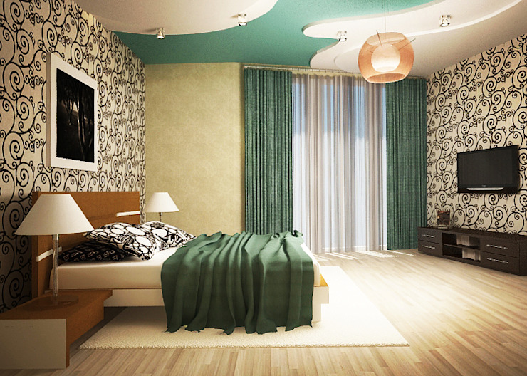 Classic style bedroom by Yana Ikrina Design Classic