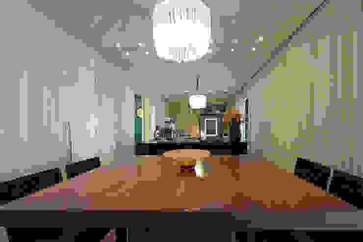 Apartamento Vila Leopoldina 01 Salas de jantar modernas por Officina44 Moderno