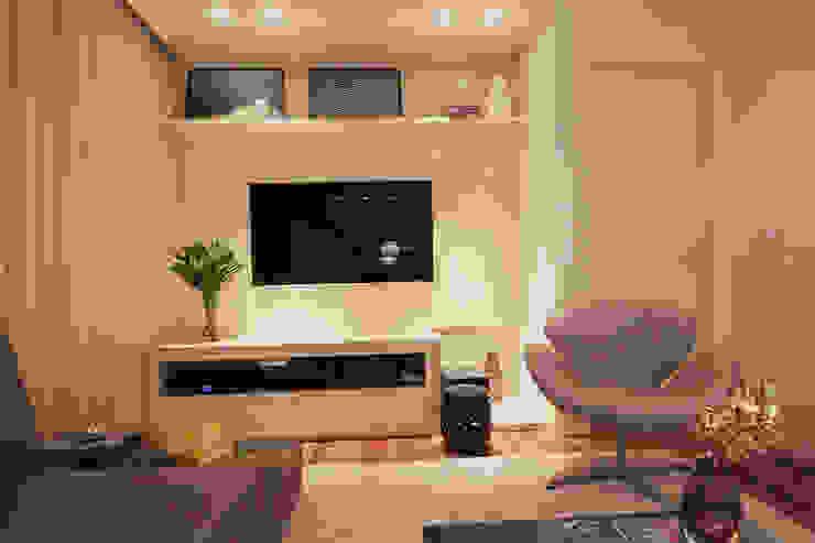 Apartamento Vila Leopoldina 01 Salas de estar modernas por Officina44 Moderno