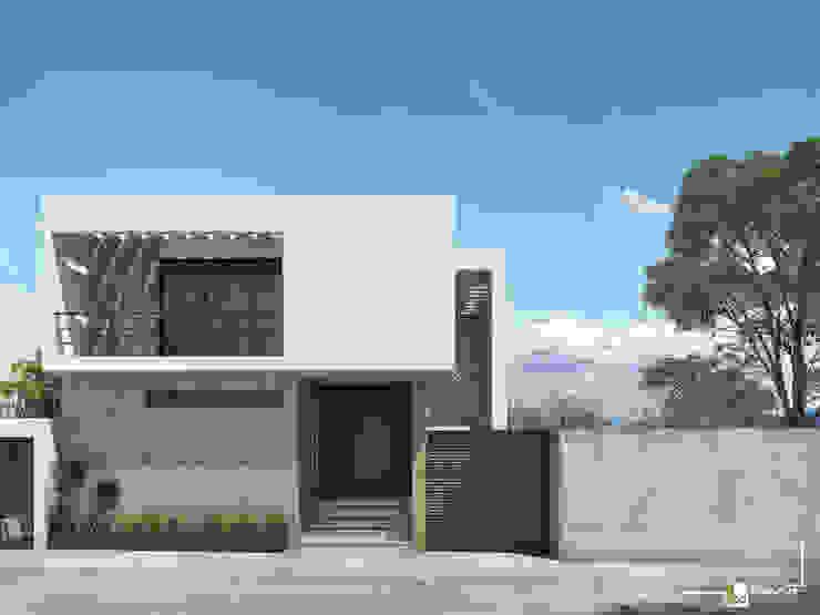 Casa BAT Casas minimalistas de Bau-Art Taller de Arquitectura Minimalista