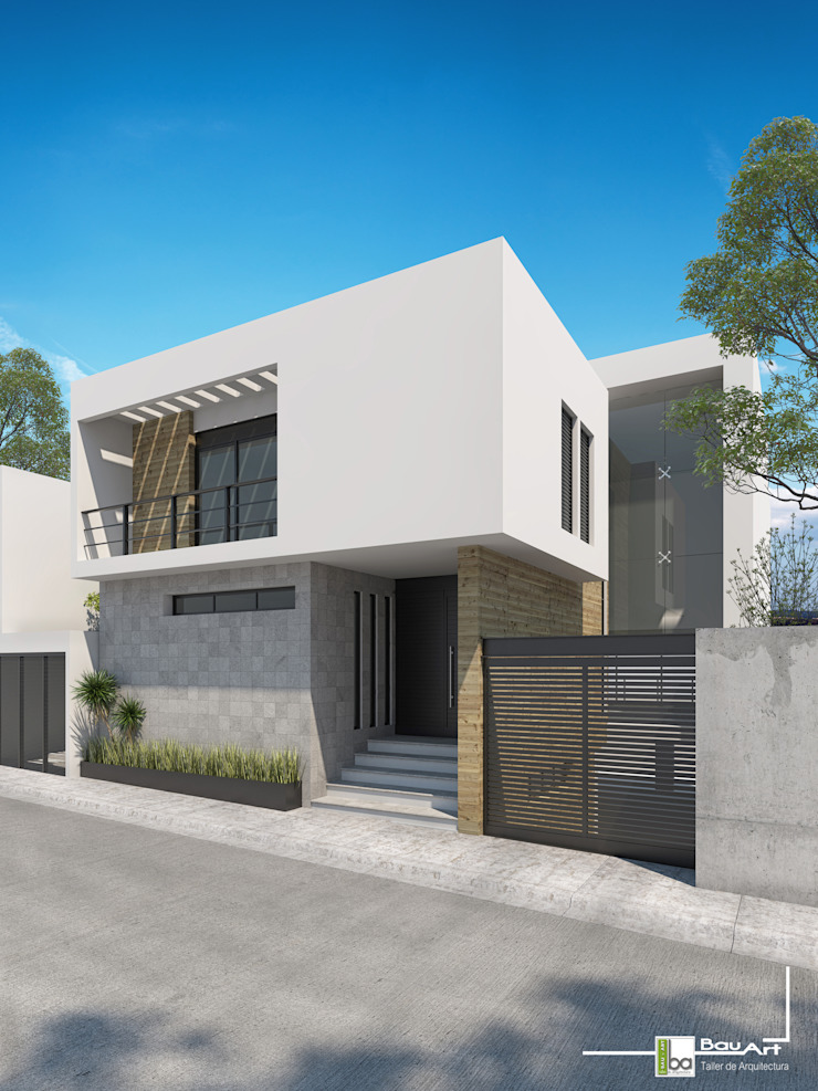 Bau-Art Taller de Arquitectura Rumah Minimalis