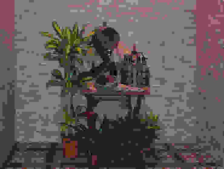 INTERAZULEJO Dinding & Lantai Gaya Rustic