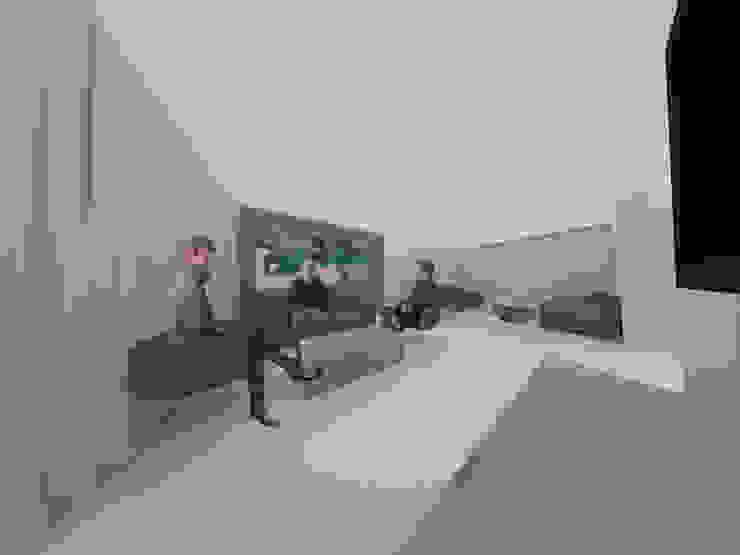 Sala de TV Tres en uno design