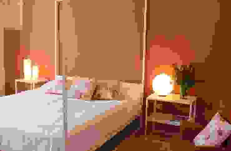 Mediterranean style bedroom by cristina mecatti interior design Mediterranean