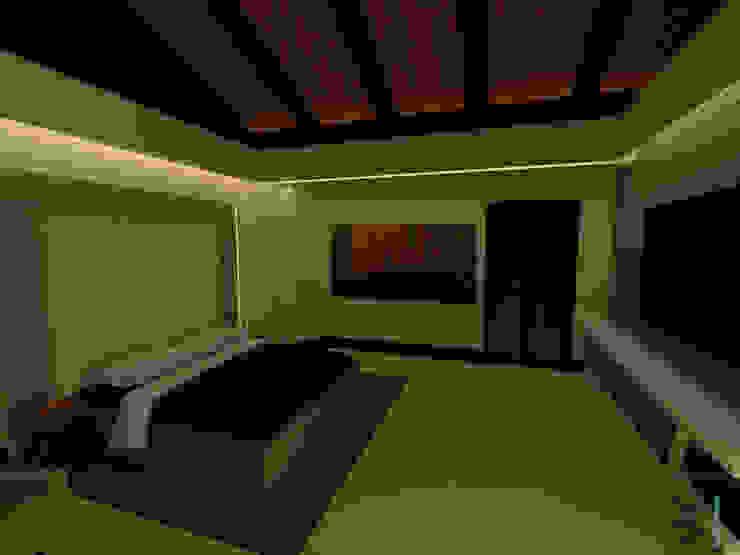 Habitación Principal de Tres en uno design
