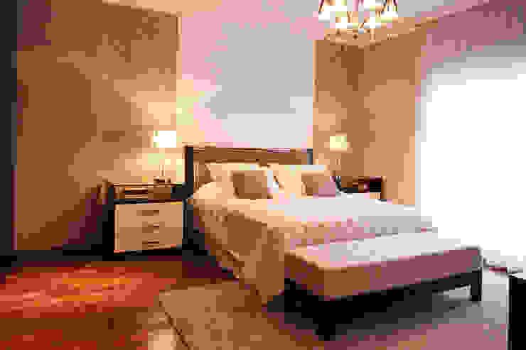 Apartamento em Pinheiros Quartos modernos por Officina44 Moderno