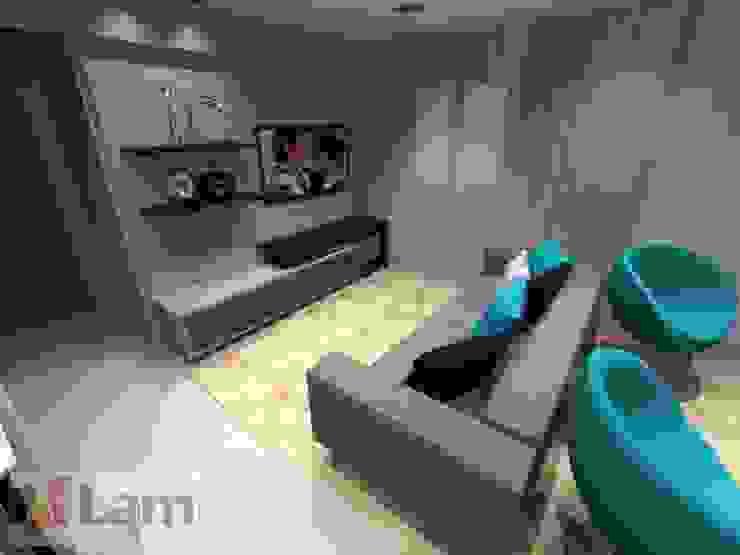 Livings de estilo moderno de LAM Arquitetura | Interiores Moderno